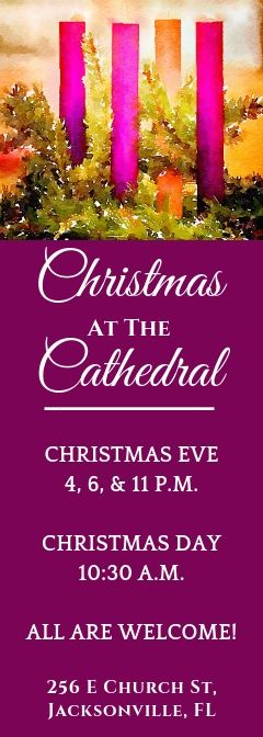 Share the Cathedral with Someone This Christmas
