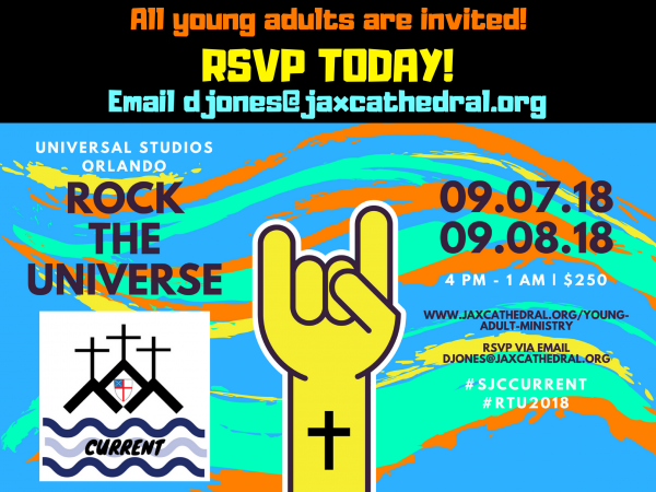 Current Rock The Universe Trip Saint John S Cathedral