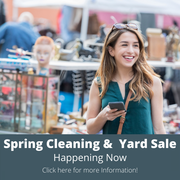 Spring Cleaning & Yard Sale