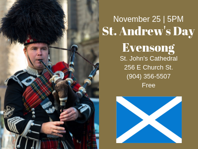 St. Andrew's Day Evensong